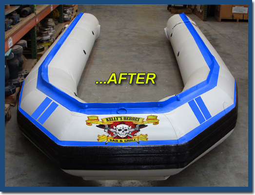 Inflatable Boat & Dinghy Repair Products | Inland Marine USA